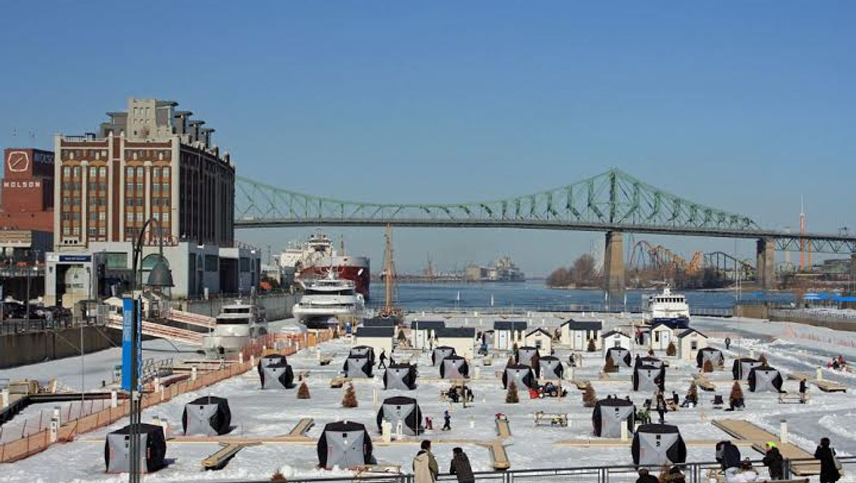 Montreal's Ice Fishing Village Is Returning To The Old Port In 2015