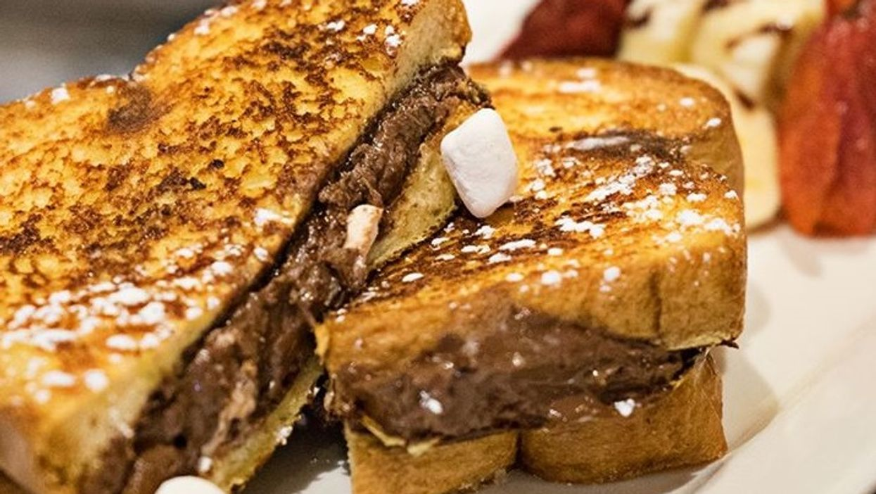 This Is The Montreal Nutella S'mores French Toast