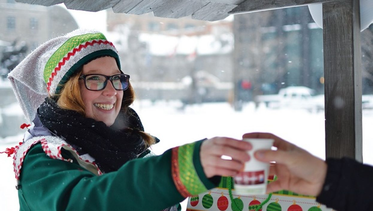 Free Hot Chocolate In Montreal's Old Port In December & January