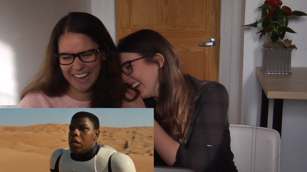 Montrealers React To The Star Wars Episode 7 Official Trailer