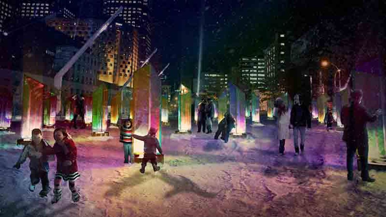 """Montreal's Quartier Des Festival To Be Transformed Into A """"Light Carnival"""" In December"""