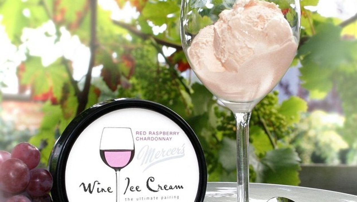 """""""Wine Ice Cream"""" Is Now A Thing You Can Eat And Get Drunk On"""