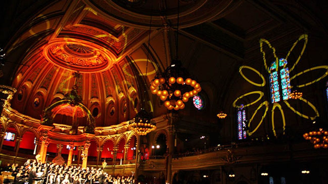 Montreal's Cirque Du Soleil 30th Anniversay Concert To Be Held Inside The Plateau's St-Jean-Baptiste Church
