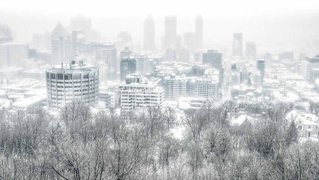 Montreal Winter 2014/2015 Will Be A Copy Of Winter 2013