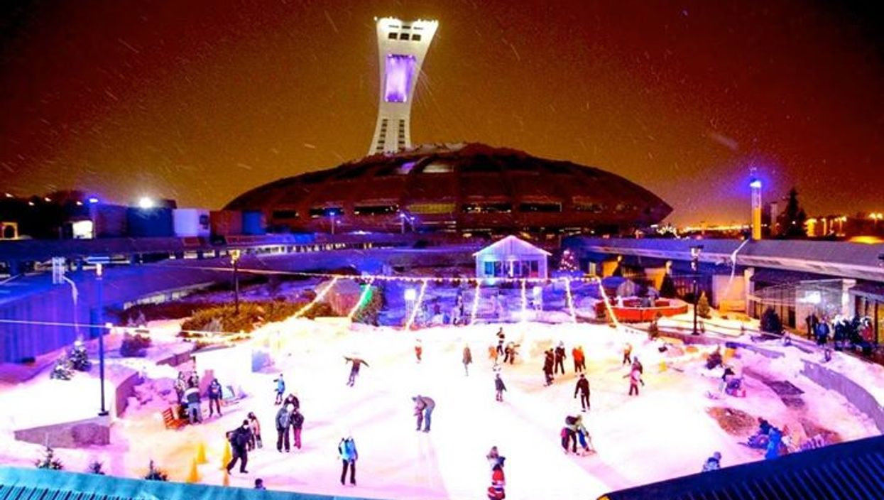 """Montreal's Olympic Stadium's Free """"Christmas In The Park"""" Is This Weekend"""
