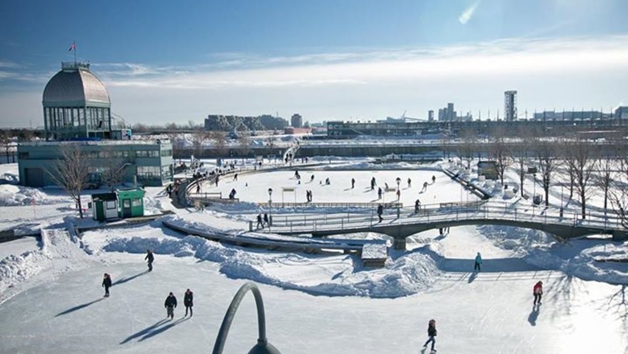 Montreal's Old Port Skating Rink Officially Opens Tomorrow