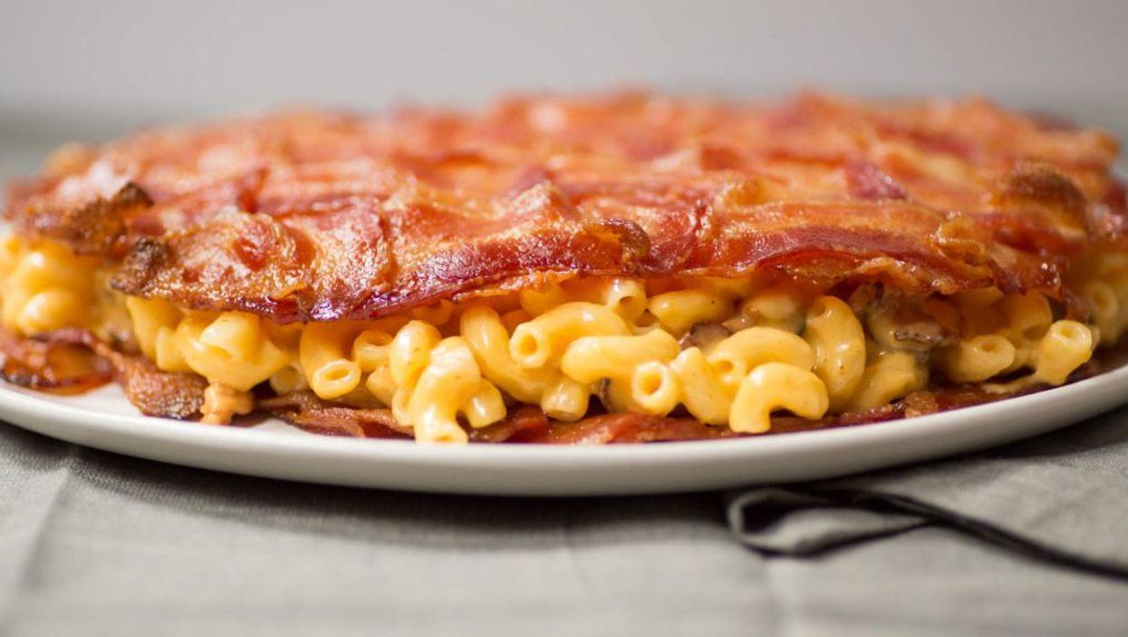 Bacon Mac 'n' Cheese Quesadilla? Yes, Bacon Mac 'n' Cheese Quesadilla