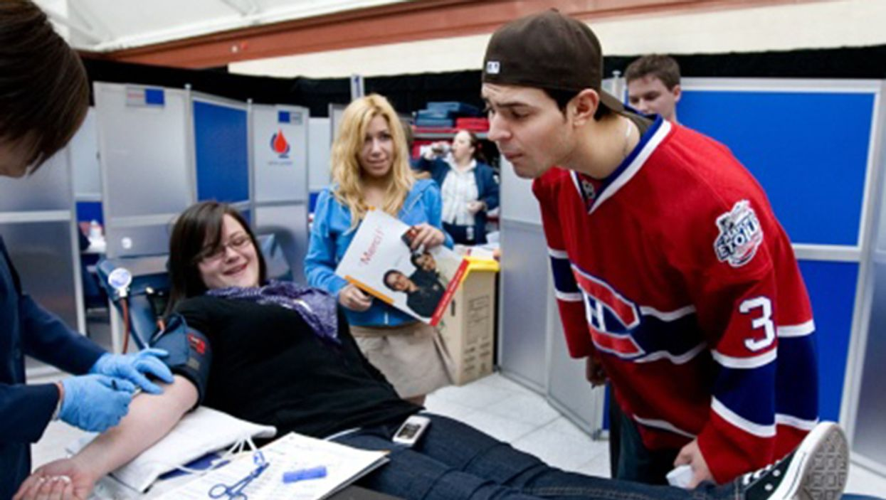 The Montreal Canadiens Meet And Greet 2014 Blood Drive Is Tomorrow