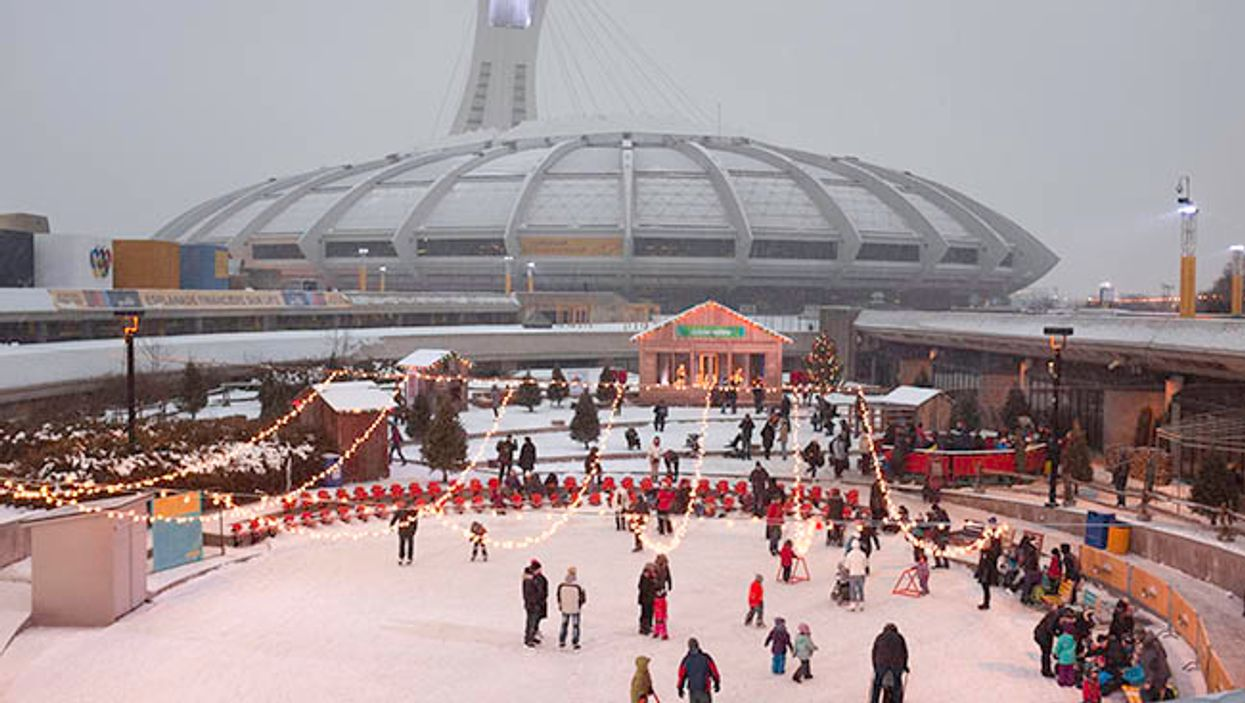 Montreal's Olympic Stadium Will Have A Free Public Skating Rink This Winter