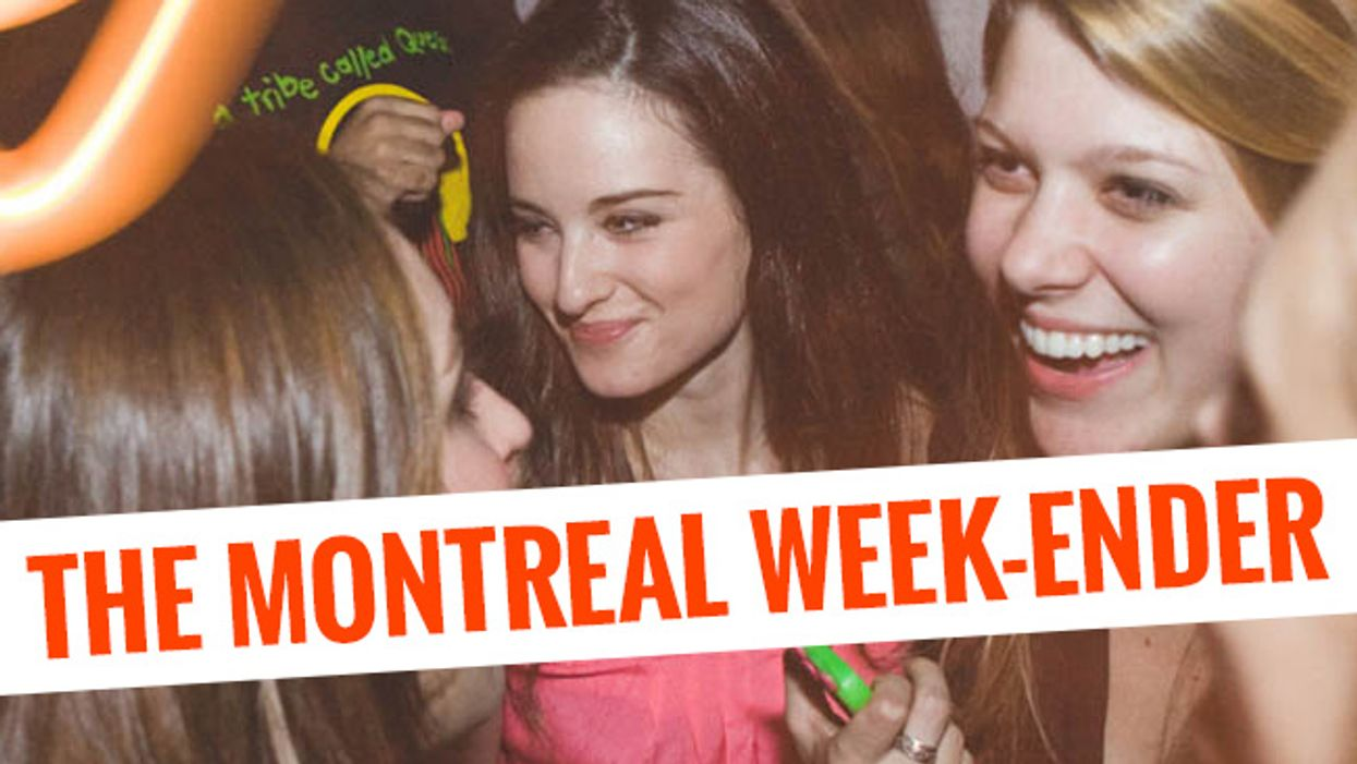 The Montreal Week-Ender: November 20th - November 23rd