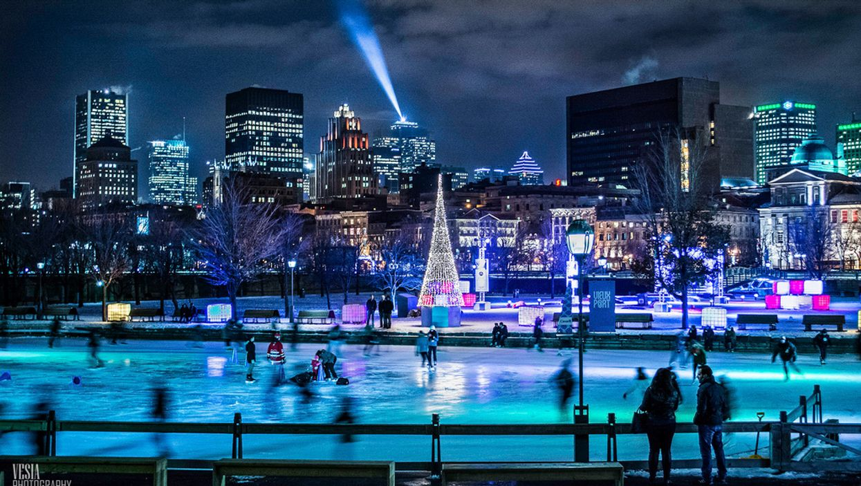 Best Montreal Outdoor Skating Rinks