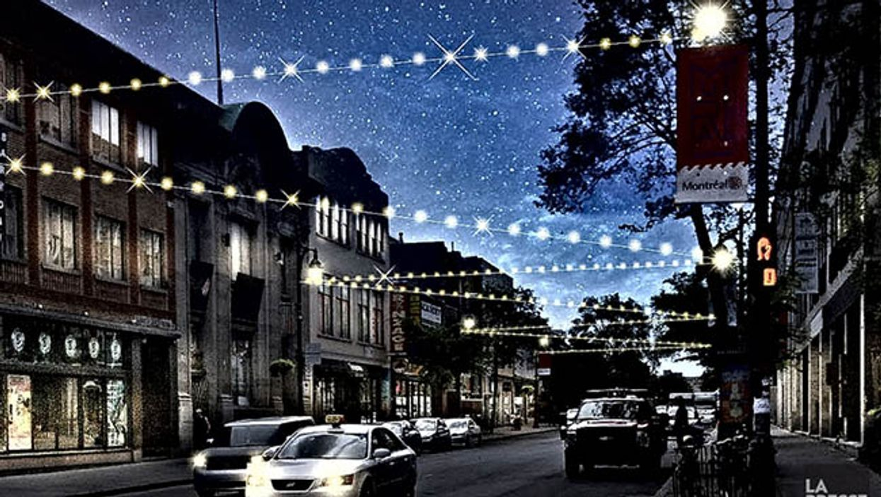 Montreal's Saint-Laurent Street To Be Lit Up With 2.5KM Of Christmas Lights This December