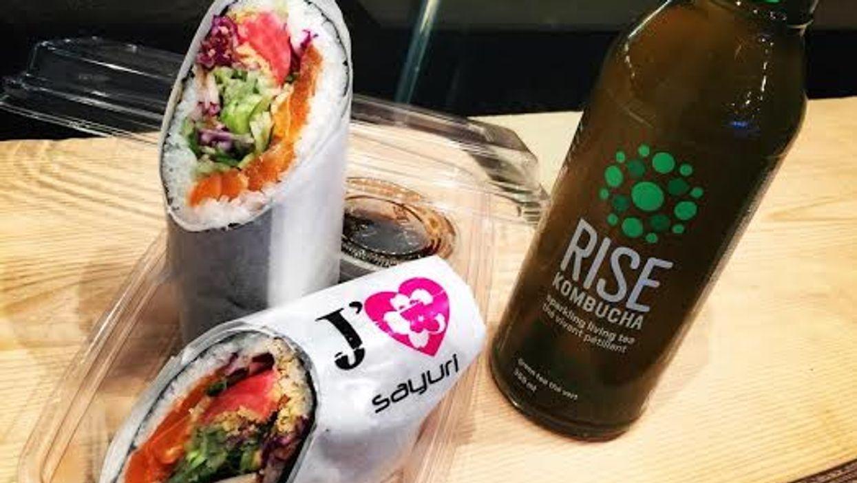 "All-New Sushi Restaurant On Montreal's Saint-Laurent Street Sells A ""Sushi Burrito"""
