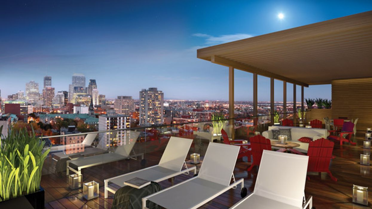 New Montreal Condo On Saint-Catherine & Fort Street Is Infusing A Youthful Feel Into The City
