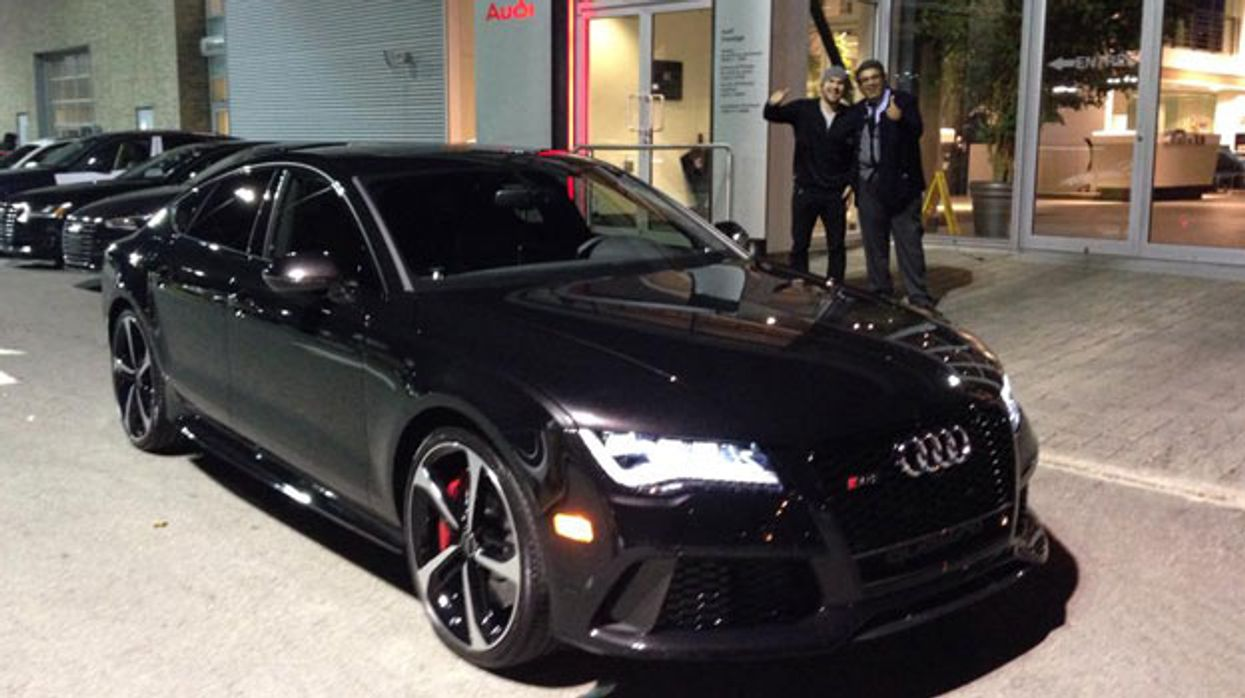 Montreal Canadiens' David Desharnais Buys A $116,000 2014 Audi RS7
