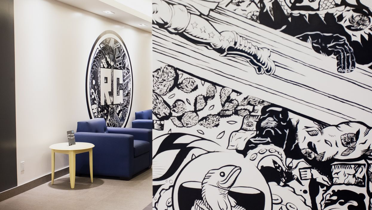 """This Is Montreal's All-New """"Urban Art"""" Student Residency On Park Avenue"""