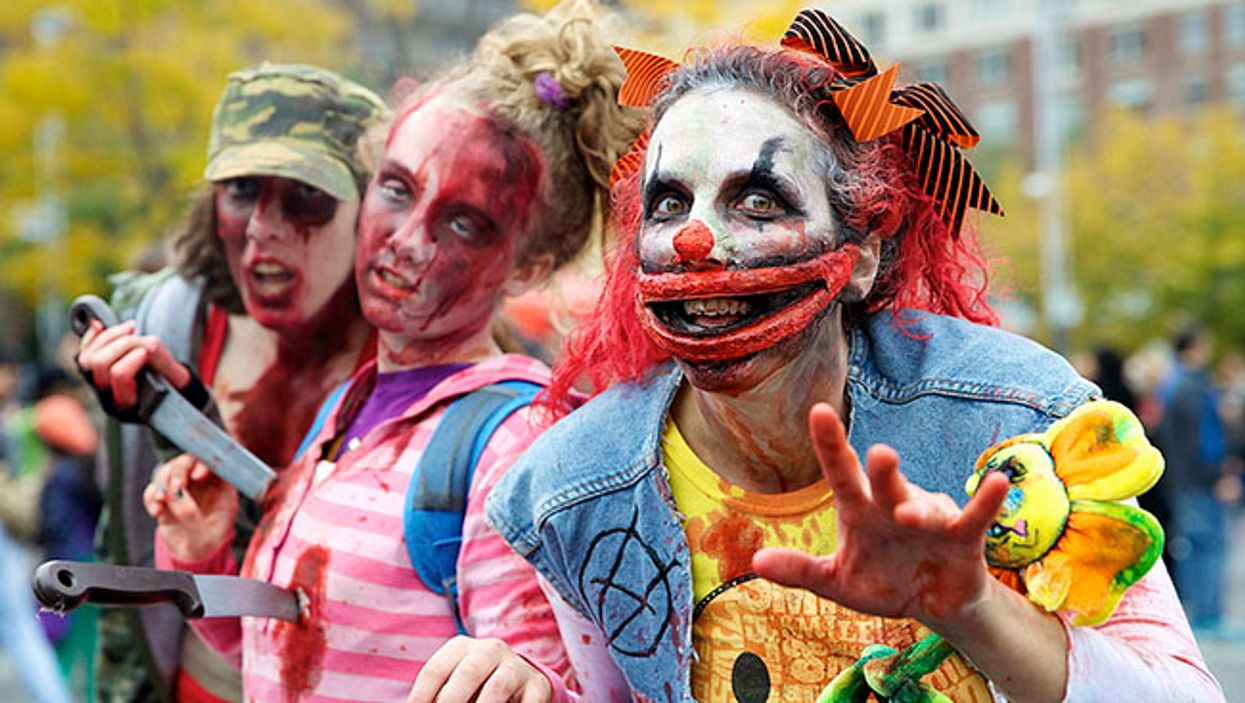 Montreal's 2014 Zombie Walk Is Today At Quartier Des Spectacles