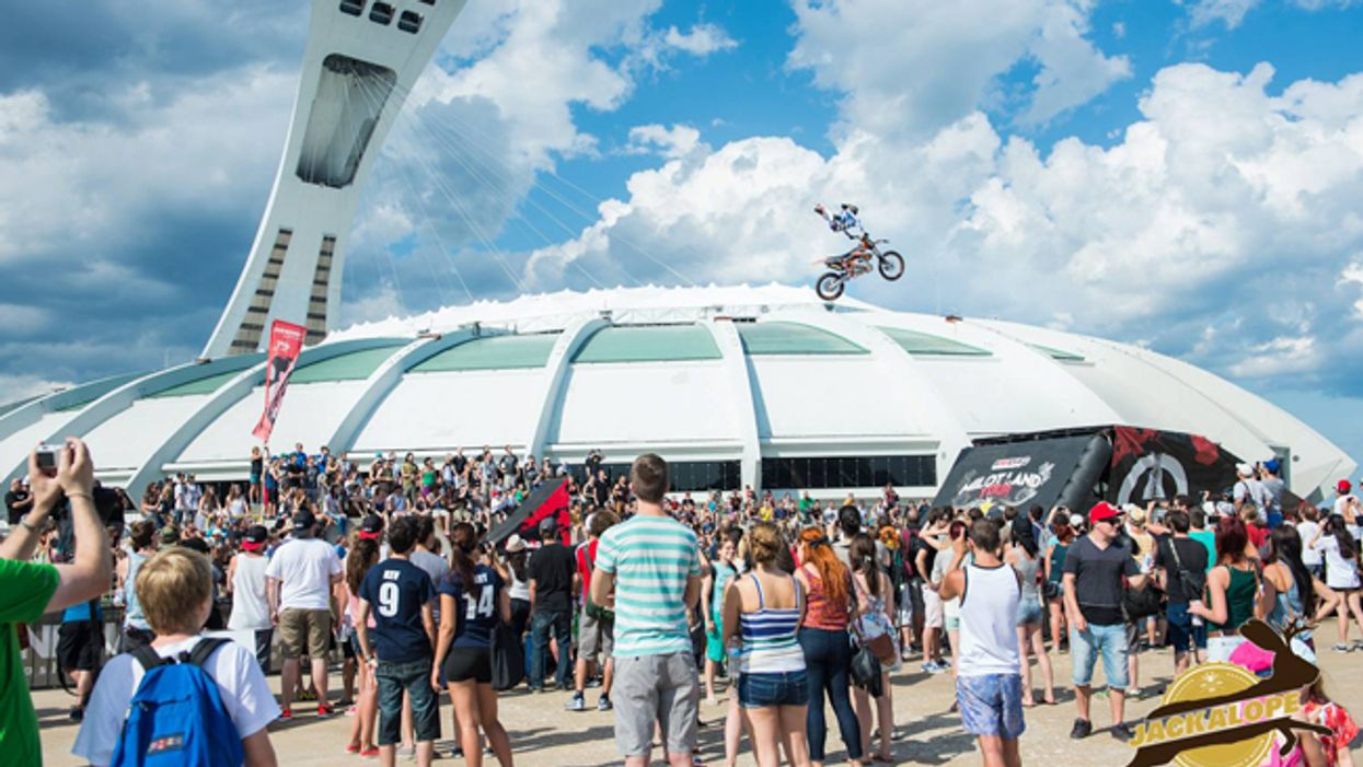 Montreal's 2014 Extreme Sports Festival Backflips Into Action This Weekend At The Olympic Stadium