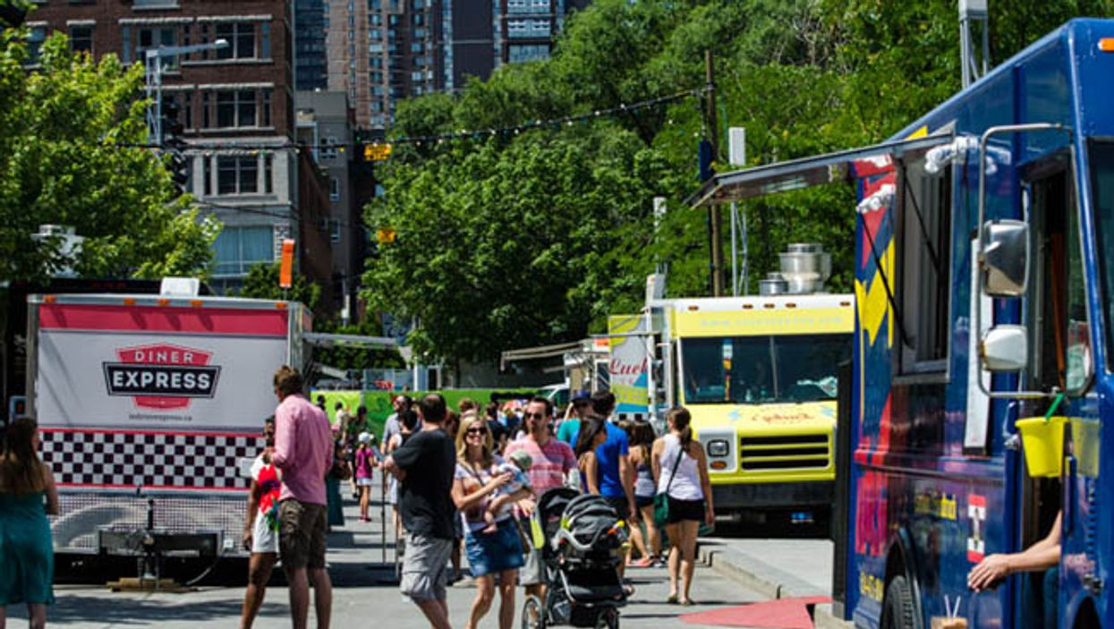 Montreal's 2014 Summer Food Truck Festival At Quartier Des Spectacles Begins Tomorrow