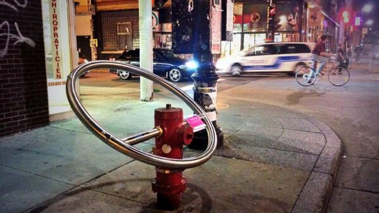 Montreal's Plateau Mont-Royal Installs All-New Water Fountain Fire Hydrants For The Public