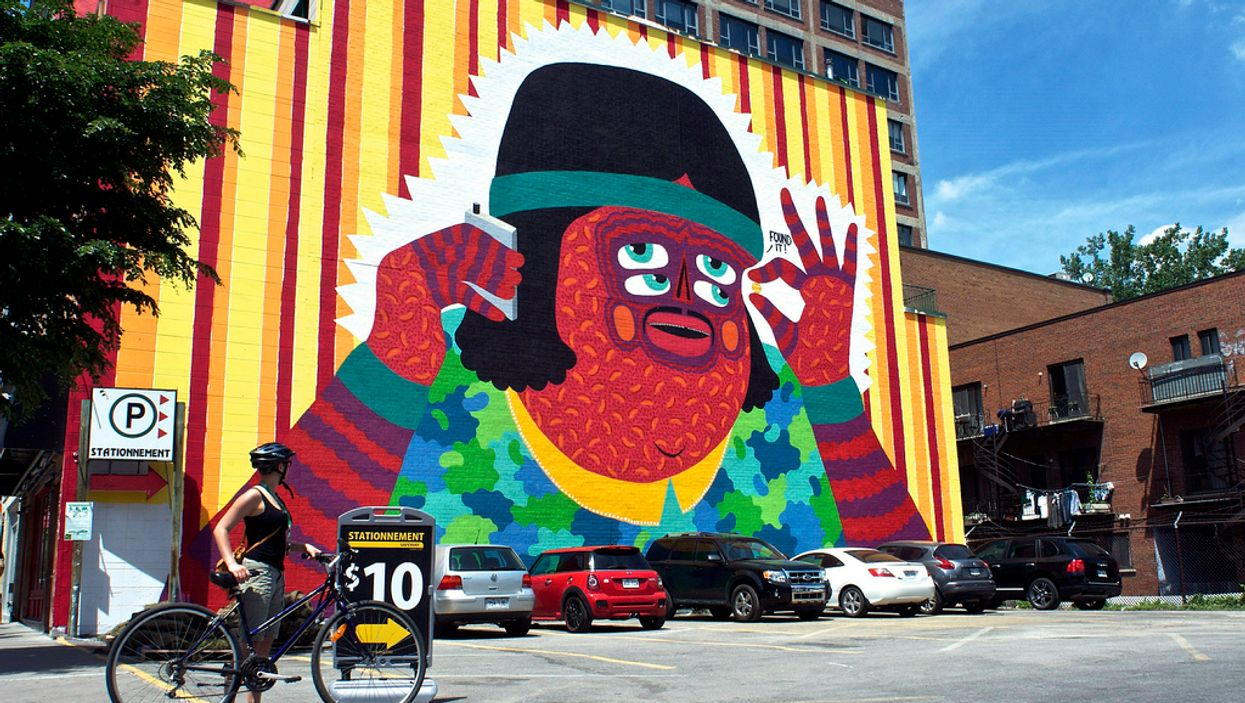 Top 10 All-New Montreal Murals On Saint-Laurent Street To Go And See As Soon As Possible