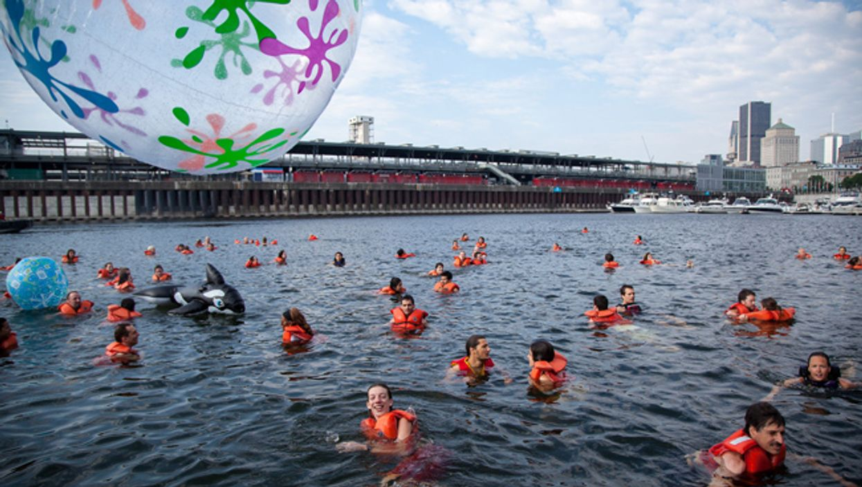 """Montreal's Old Port Will Be Hosting A """"River Party"""" Tomorrow"""