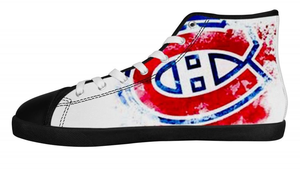 These Montreal Canadiens Personalized Sneakers Are The Shoes Every Habs Fan Should Own