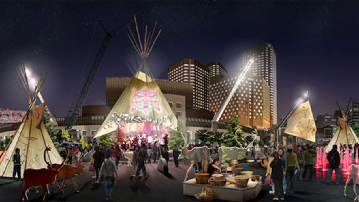 Montreal's Quartier Des Spectacles To Be Transformed Into A First Nations Village At The End Of July