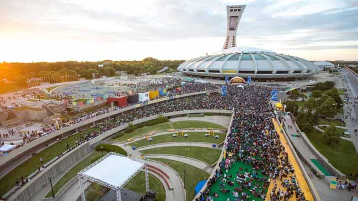 40 Montreal Food Trucks Will Be Stationed At The Olympic Stadium Park For July's 2014 First Friday