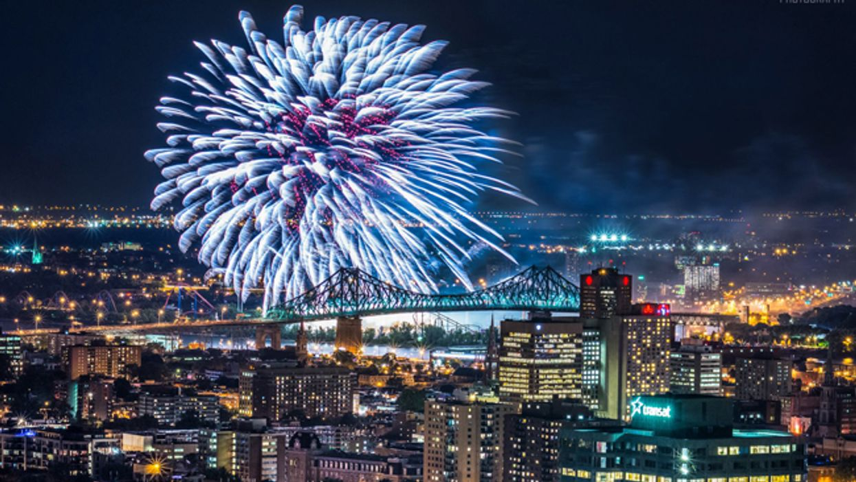9 Great Montreal Spots To Watch The International Fireworks Competition This Summer