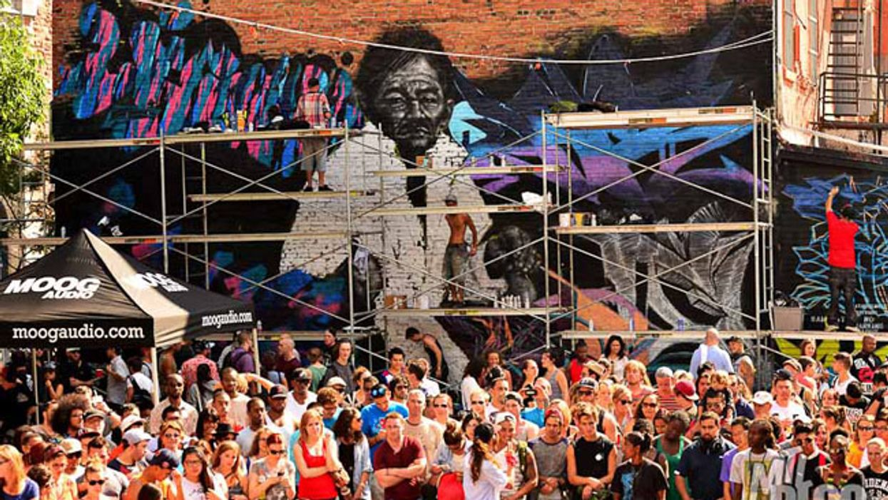 Montreal's Saint-Catherine Street To Play Host To The City's Biggest Summer Graffiti Festival In August