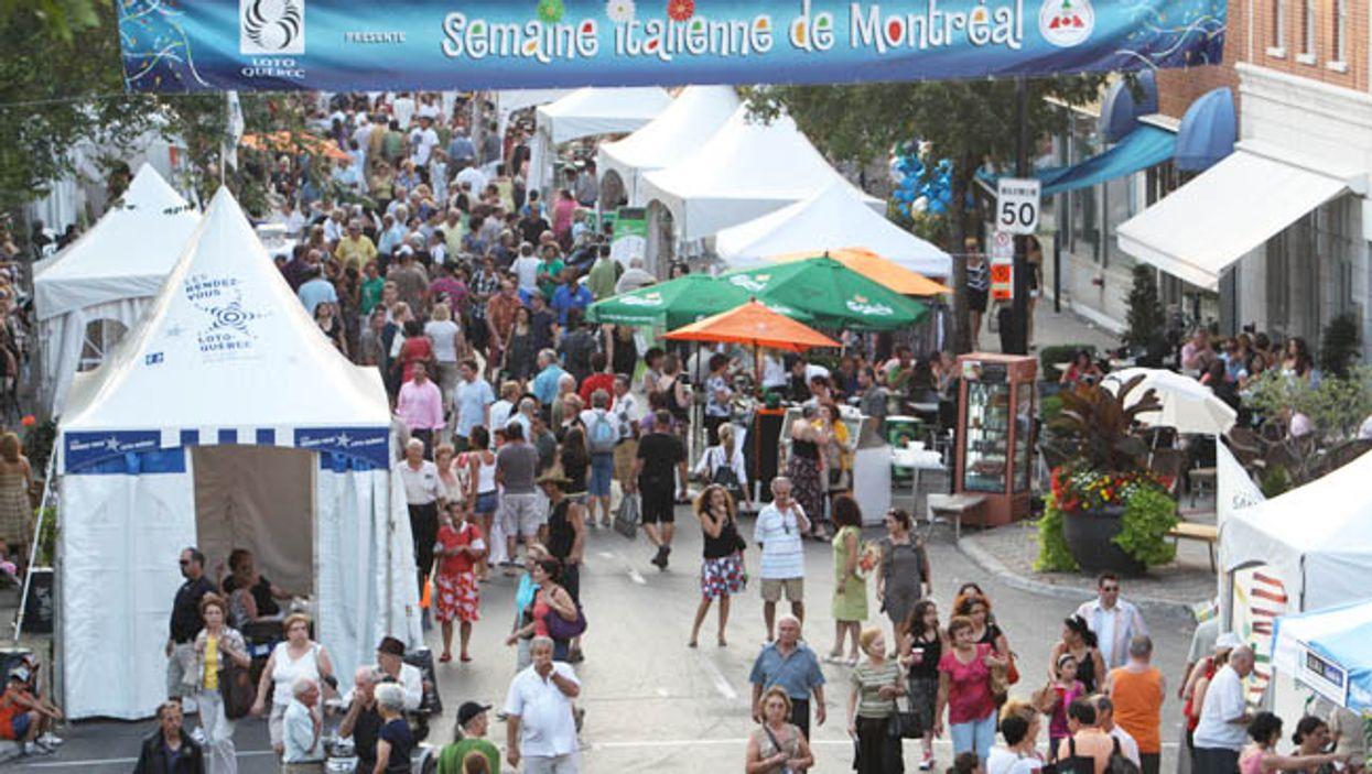 Montreal's Italian Week 2014 Will Be Taking Over Saint-Laurent Street This Weekend