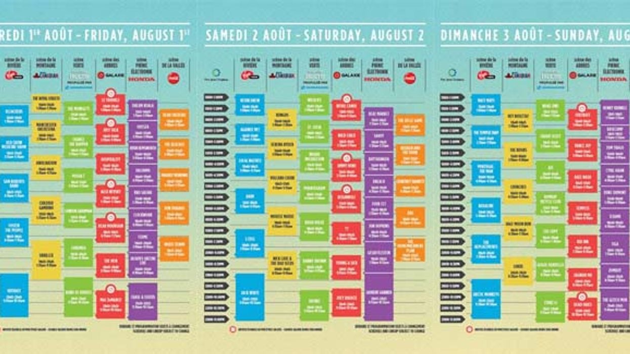 It's Official, The Complete Osheaga 2014 Daily Lineup Is Here