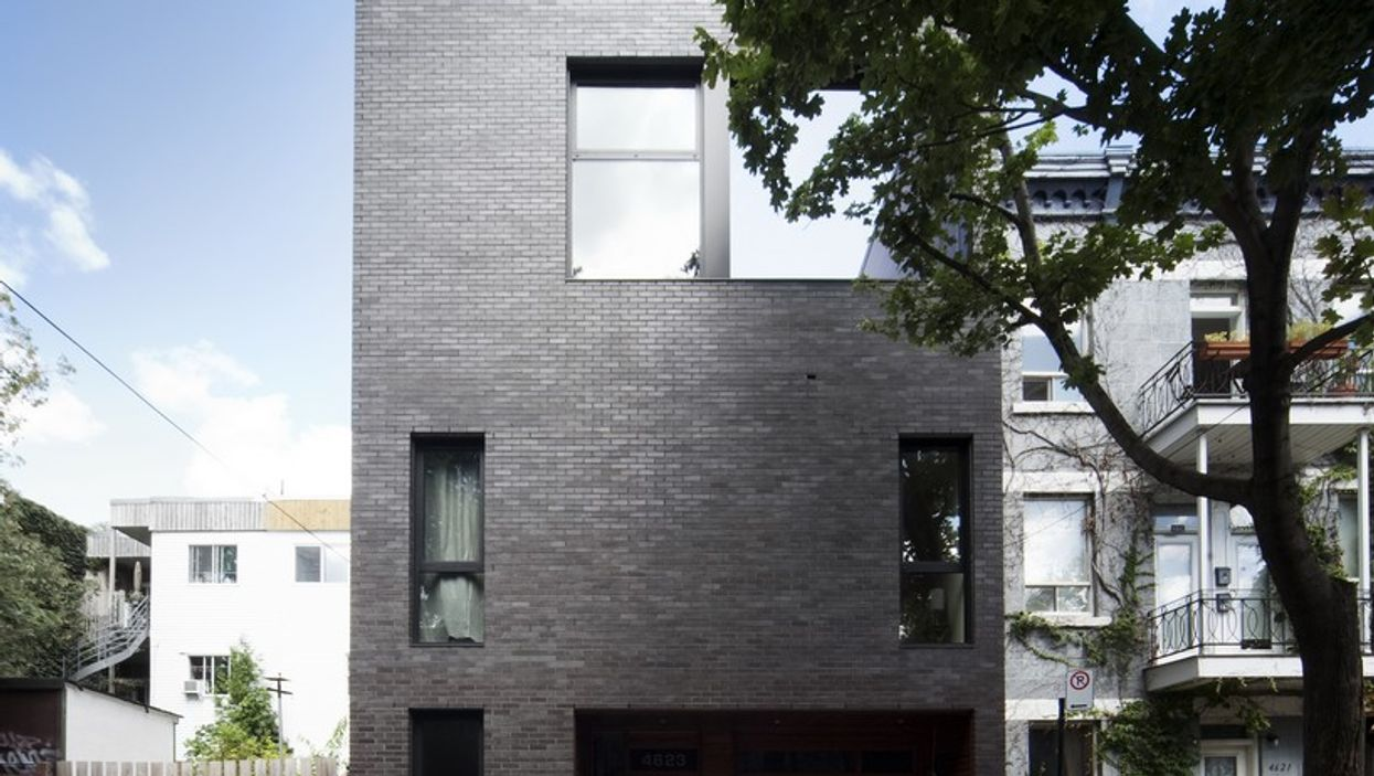 These Two Montreal Plateau Homes Show Off Their Good Looks In A Very Unlikely Place