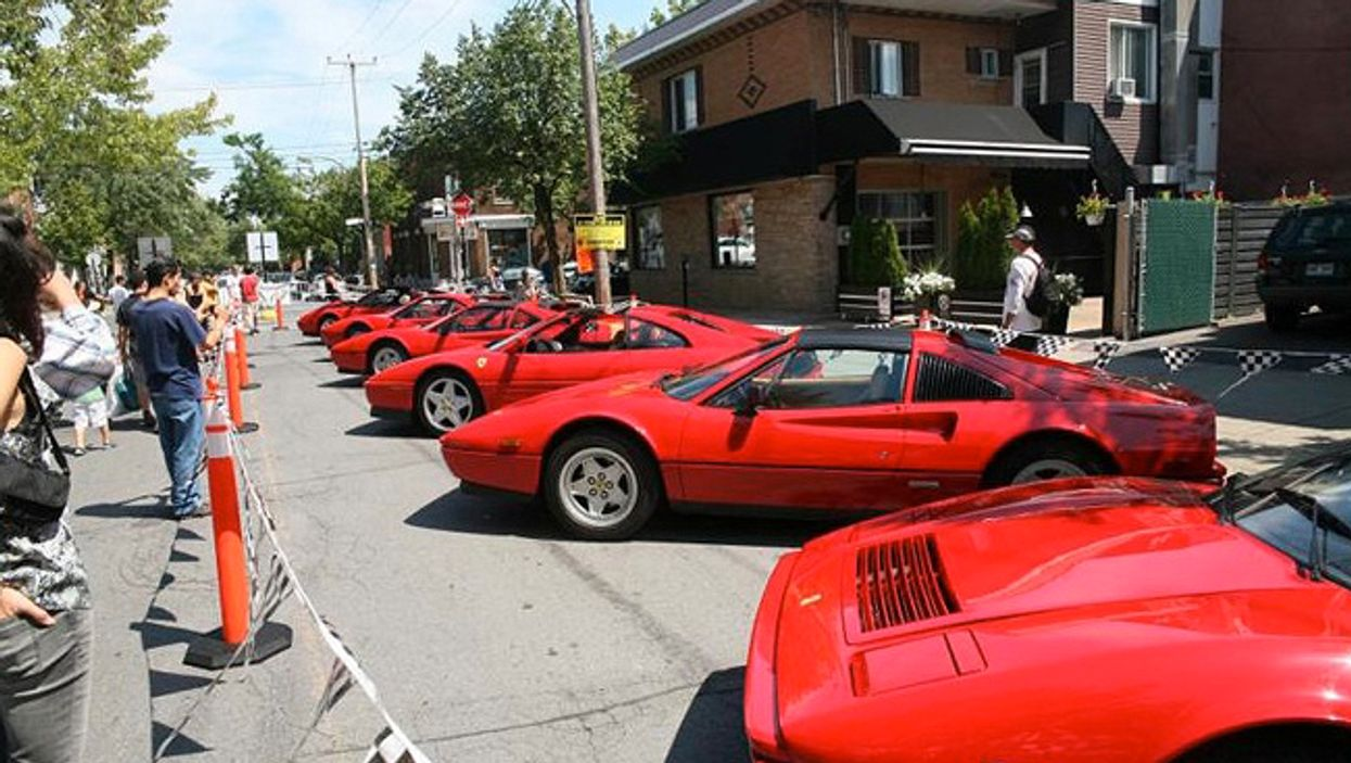 Montreal's 2014 Summer Italian Car Festival Will Be Taking Over Little Italy Today