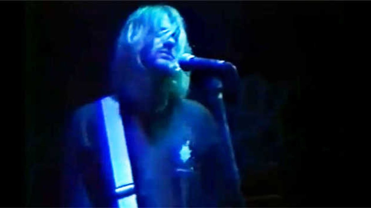 Video Showing Nirvana Performing Live At Montreal's Foufounes Electriques In 1991
