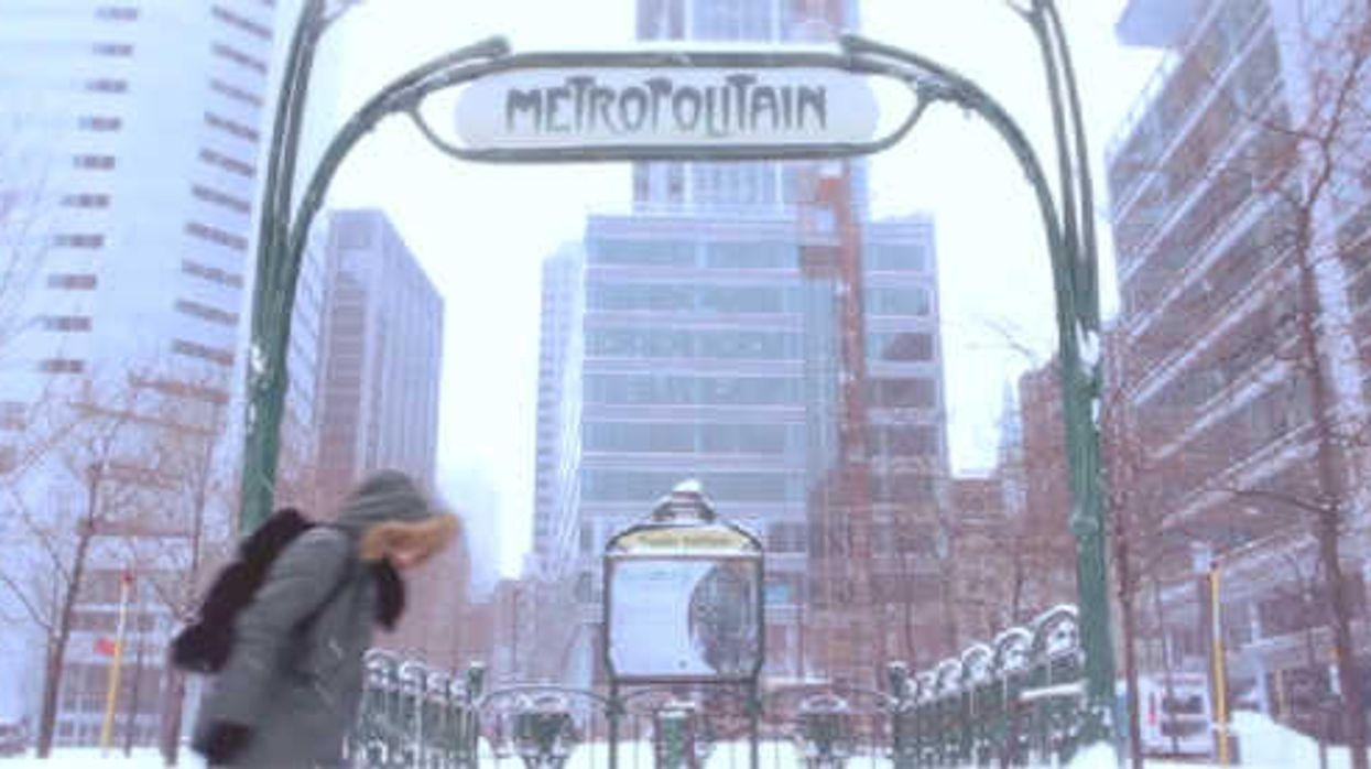 [Video] Montreal Under The Snow