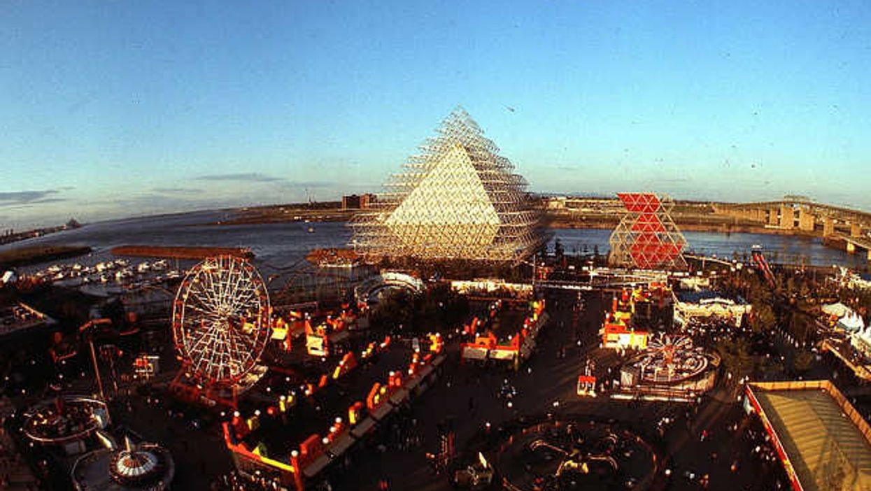 Pictures Of Montreal's La Ronde In The Summer Of 1969