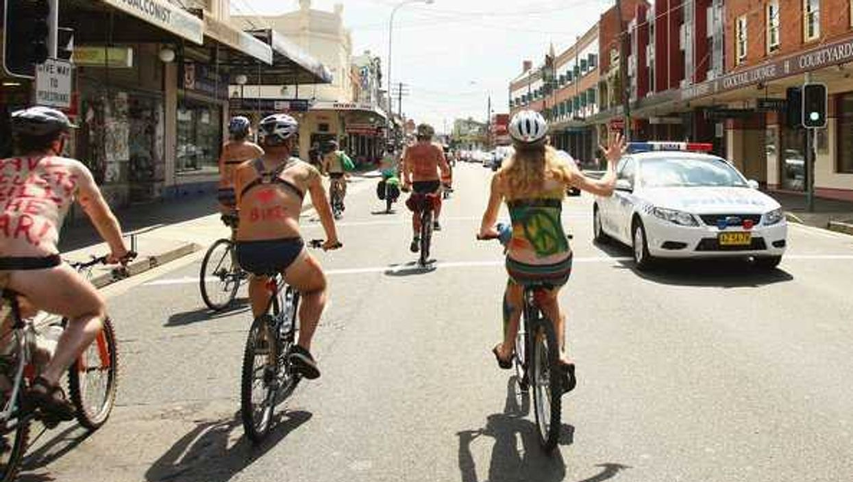 Montreal Hosts The World Naked Bike Ride This Saturday