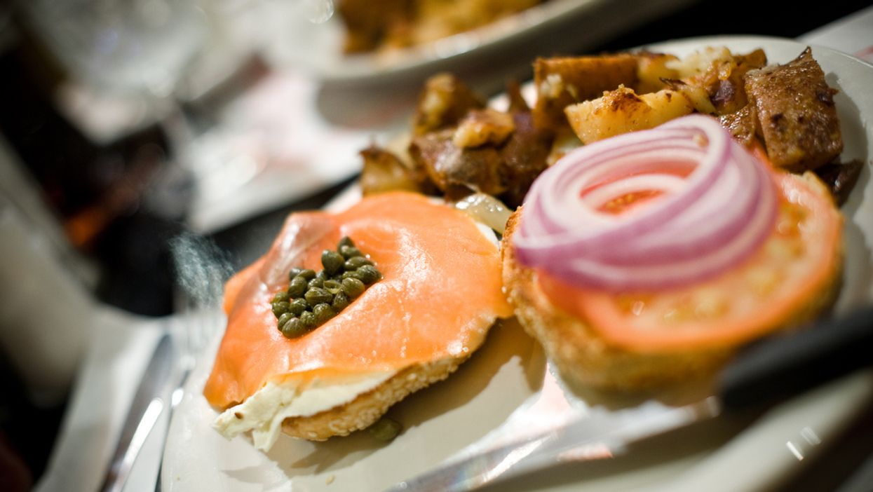 Breakfast At Noon: Eggs, Pancakes, And 'Bagels Etc'