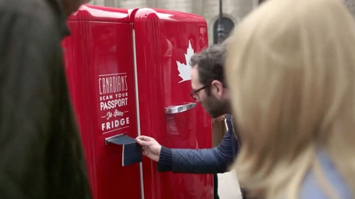 Free Beer? If You Have A Canadian Passport Molson Will Hook You Up