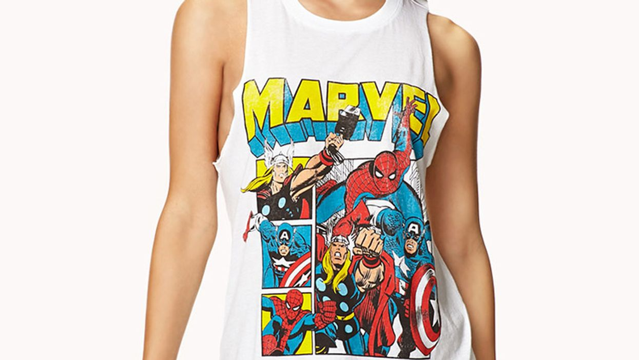 Spider-Man, Iron Man And Thor Take Over Forever 21