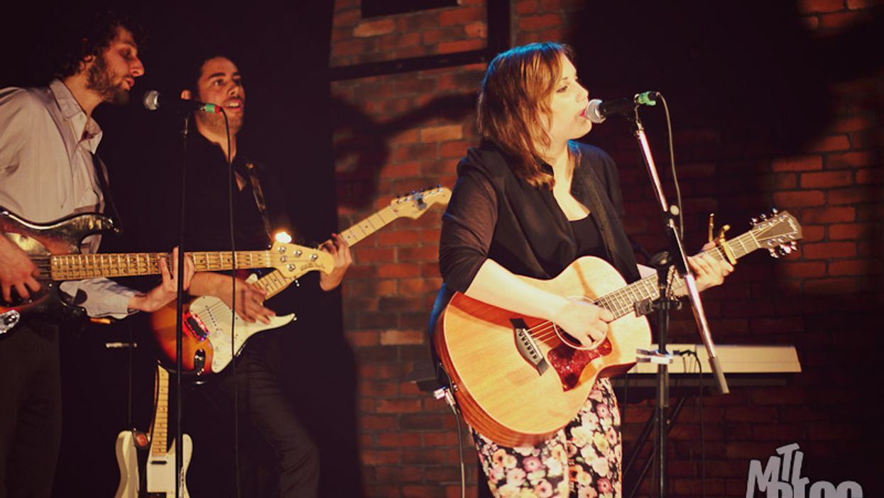 """Brittany Kwasnik Rocks At Her CD Launch """"The Covers and the Sheets"""" @ Le Belmont"""