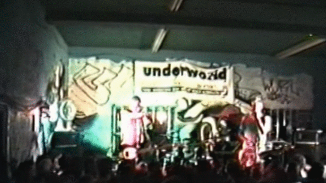 Video Showing Blink 182 Performing Live In Montreal In 1996