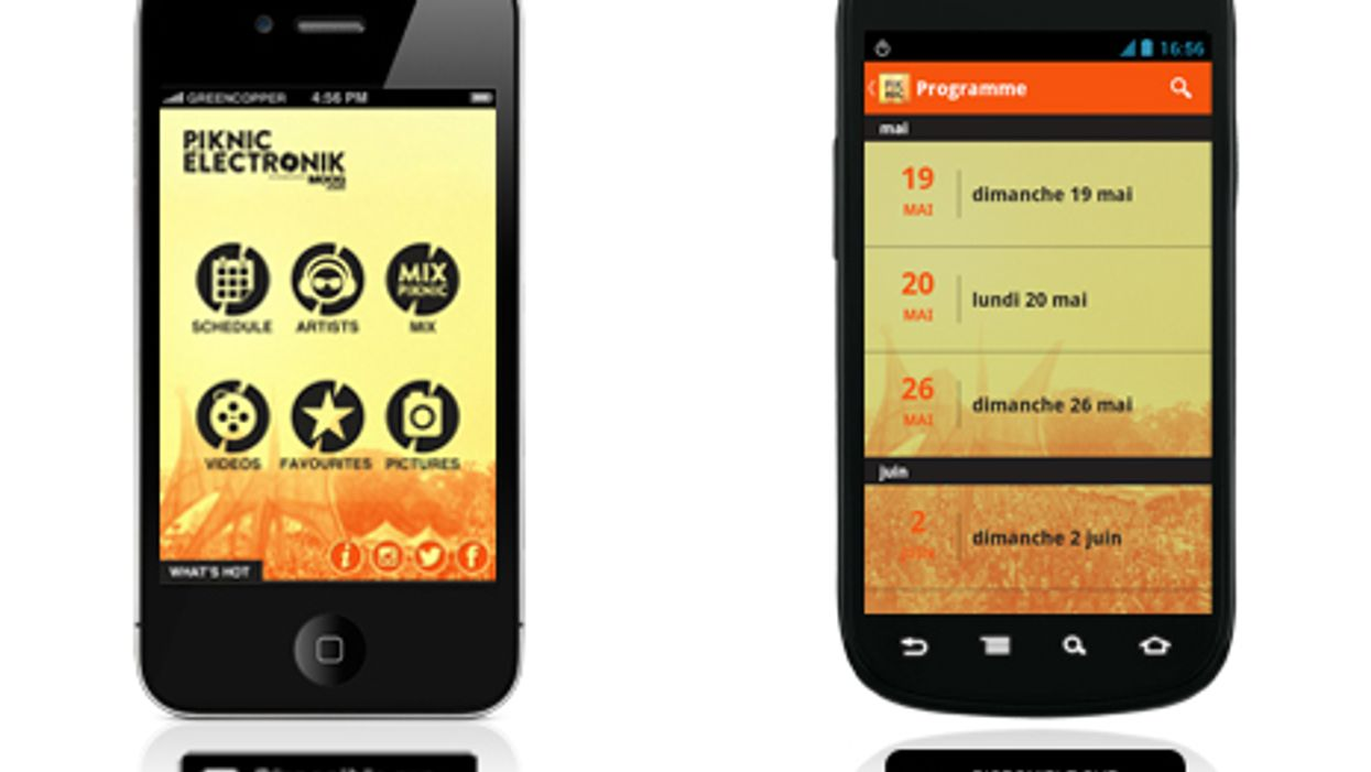 Woah!!! Super Awesome Piknic Electronik App Now Available