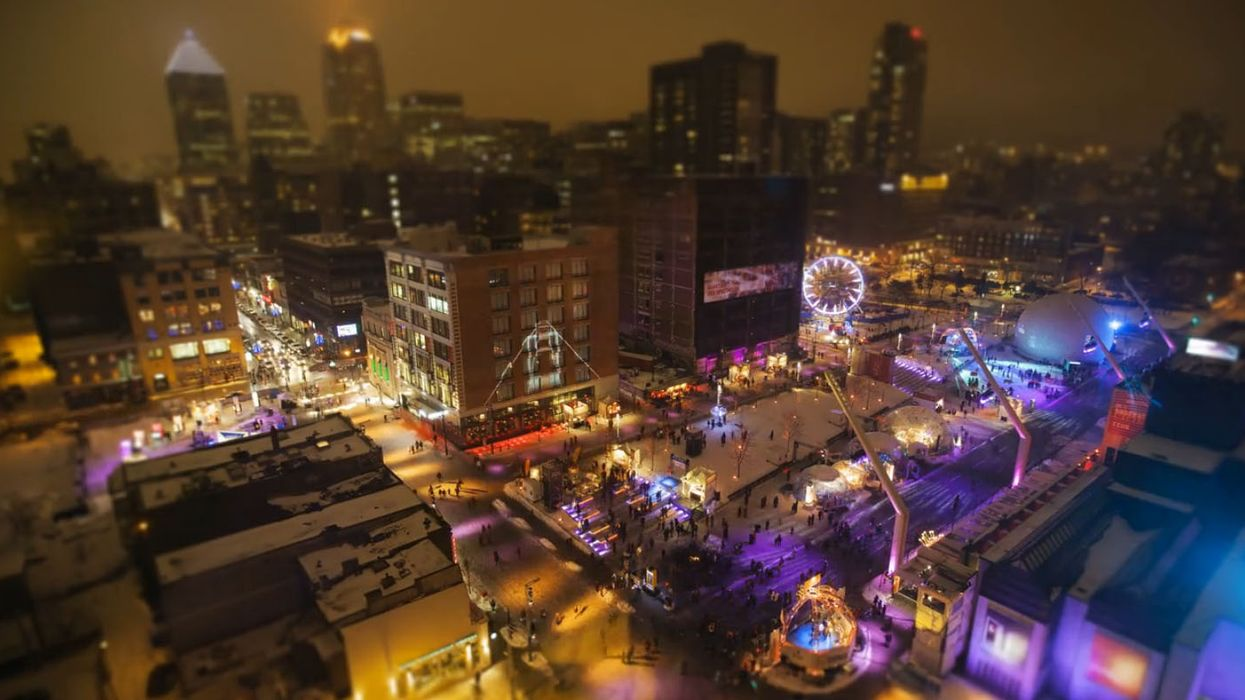 Montreal By Winter