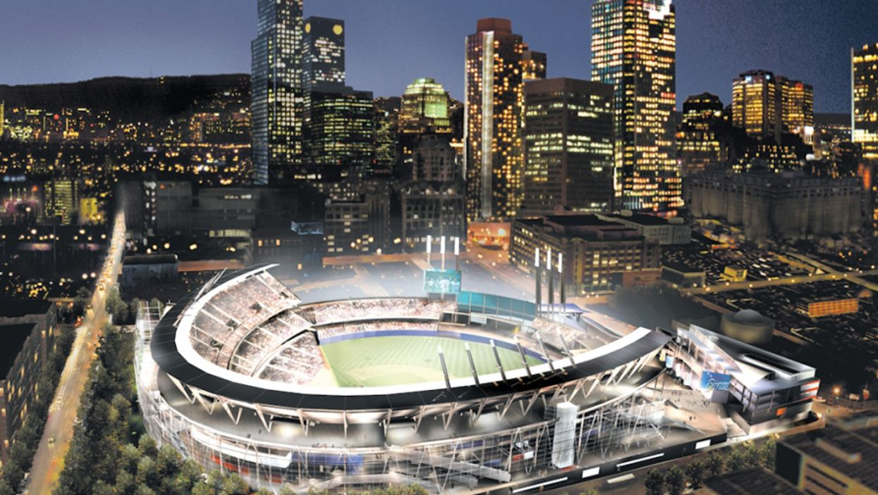 What The Downtown Montreal Expos Stadium Would Have Looked Like