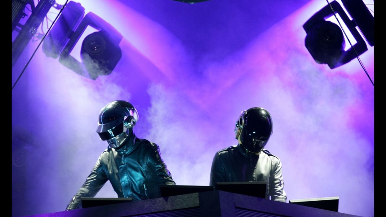 Daft Punk Surprise Coachella Performance