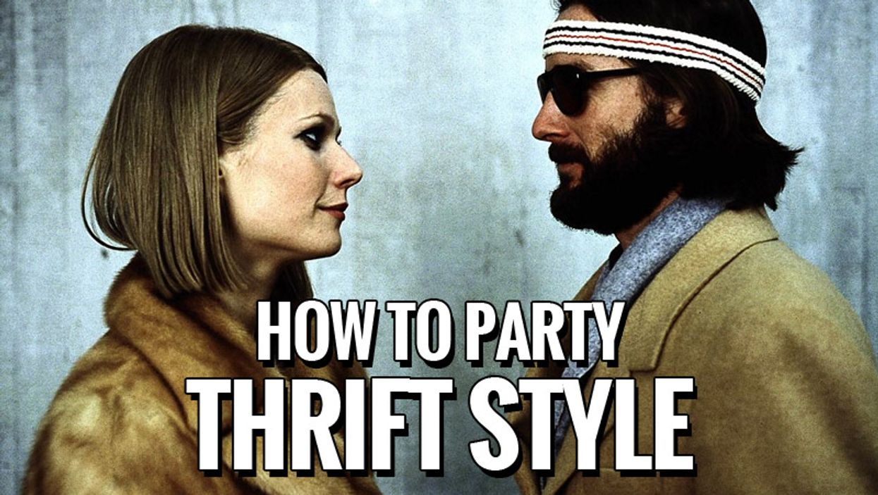 How To Party: Thrift Shop Style