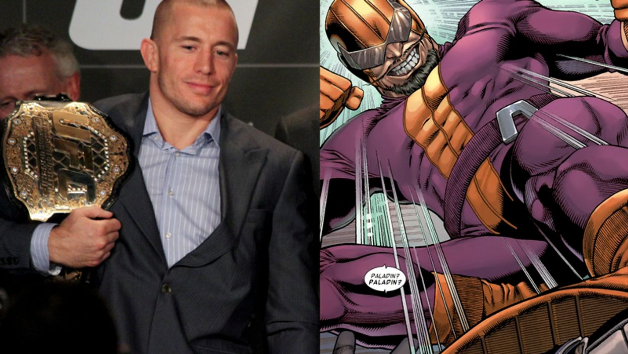 """Georges St-Pierre to Play """"Batroc the Leaper"""" in CAPTAIN AMERICA: THE WINTER SOLDIER"""